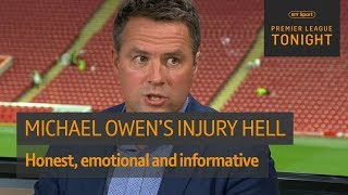 Download Honest and emotional Michael Owen on how he went from Ballon d'Or winner to Stoke's bench Video