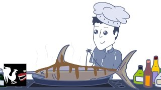 Download Rooster Teeth Animated Adventures - Chris Cooks Fish Video