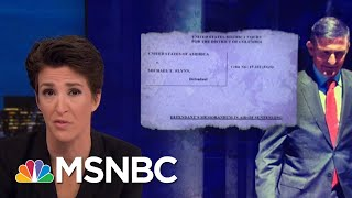 Download Mike Flynn Asks For No Jail Time, Cites FBI Not Warning Him Not To Lie | Rachel Maddow | MSNBC Video
