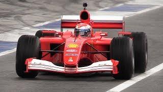 Download Ferrari F1 Heaven at Monza Circuit - F2004, 412 T1, F138, F2008 & More! Video