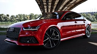 Download 2017 605hp Audi RS7 Performance - details, launch, acceleration, interior Video