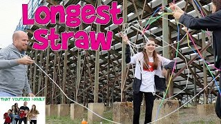 Download Longest Straw Challenge / That YouTub3 Family Video
