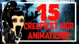 Download 15 CREEPIEST MSP Animations! :o Video