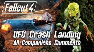Download Fallout 4 - UFO Crash Landing - All Companions Comments Video