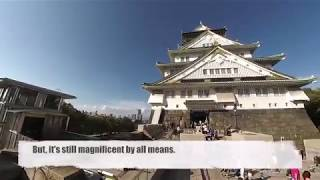 Download Insta360 Free Capture - The Osaka Castle at a Glance Video