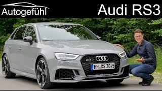 Download The fastest hot hatch? Audi RS3 400 hp FULL REVIEW - Autogefühl Video