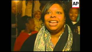 Download Across US, black and white voters celebrate Obama historic win Video