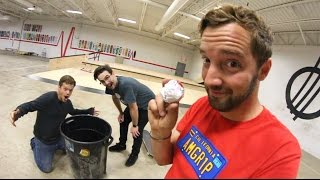 Download ULTIMATE PAPER TOSS TRICK SHOTS! Video