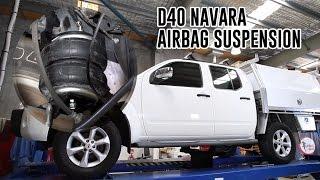 Download How To Install: Nissan D40 Navara Air Suspension - RR4656 Airbag Man Leaf Helper Kit Video