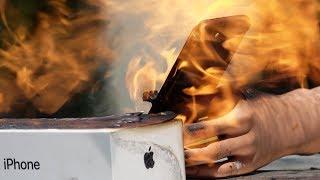 Download Flamethrower vs. iPhone Video