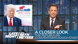 Download The Republican Convention's Rough Start: A Closer Look Video