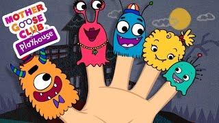 Download Halloween Songs   Finger Family   Monster Finger Family   Mother Goose Club Playhouse Kids Song Video