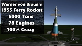 Download Building von Braun's Ferry Rocket at Realistic Scale Video