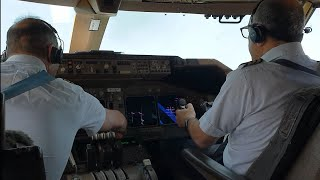 Download HEAVY BOEING 747 TAKEOFF FROM ATLANTA. long run on the runway from V1 to Vr Video