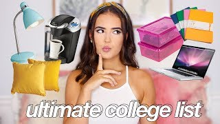Download What To Bring (And NOT Bring) To College! | Reese Regan Video