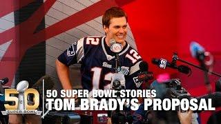 Download Tom Brady's Proposal, Michael Strahan's Singing & More! | 50 Super Bowl Stories Video