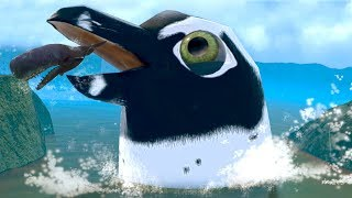 Download THE GIANT PENGUIN SEEKS REVENGE!!! - Fish Feed Grow Video