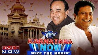 Download Subramanian Swamy VS Prakash Raj #KarnatakaNow | Times Now Exclusive Video