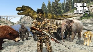 Download HUNTING RARE & EXOTIC ANIMALS!! (GTA 5 Mods) Video