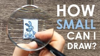 Download TEENY WEENY CHALLENGE - How Small Can I Draw?! Video