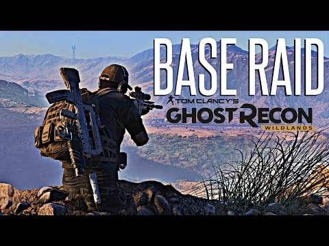 MILITARY BASE RAID! - Ghost Recon Wildlands (Hardest Difficulty Challenge)