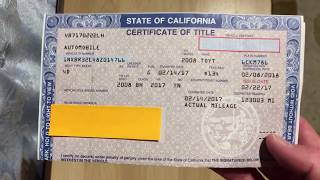 Download How to Fill Out a Pink Slip When Buying or Selling a Car Video