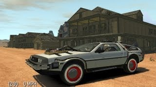 Download Grand Theft Auto IV - Back To The Future Delorean Time Machine (MOD) HD Video