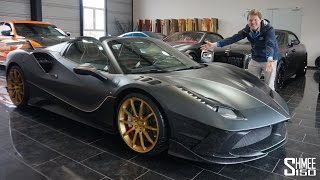 Download THIS is a Ferrari 488 on STEROIDS! Mansory Siracusa 4XX Spider Video