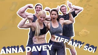 Download ANNA DAVEY and TIFFANY SOI vs. Yonder's competition wall Video