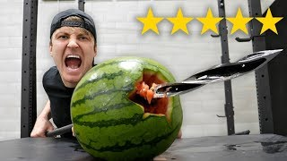 Download I Bought The BEST and WORST Rated WEAPONS On Amazon!! (5 STAR vs 1 STAR) Video