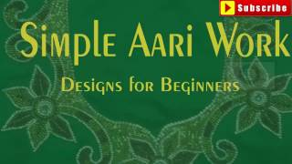 Download Simple aari work designs images | aari work designs for beginners | aari work design patterns Video