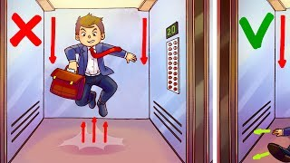 Download The Only Way to Survive in a Free Falling Elevator Video