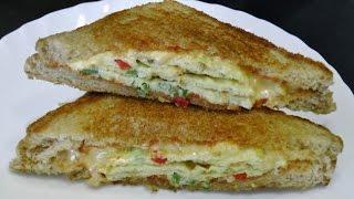 Download Omelette Sandwich - Quick & Easy Breakfast recipe Video