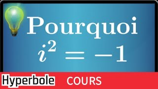 Download POURQUOI avoir créé les NOMBRES COMPLEXES et pourquoi i ne peut s'écrire √ -1 • Partie I Video