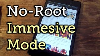 Download Enable Full-Screen Immersive Mode on Android (No Root Required) [How-To] Video