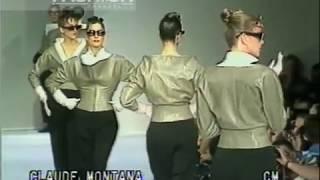 Download ″Claude Montana″ Spring Summer 1988 Paris pret a porter women by Canale Moda Video