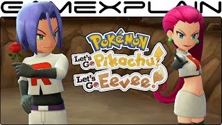Download Team Rocket Revealed in NEW Pokemon Let's Go Pikachu & Eevee Trailer (+ Legendary Birds!) Video