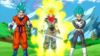 Download ″New Dragon Ball Heroes Anime″ | Future Trunks Returns | Series Details Video