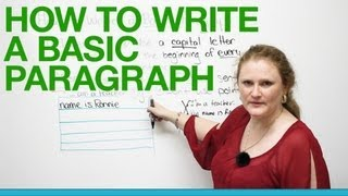 Download How to write a basic paragraph Video