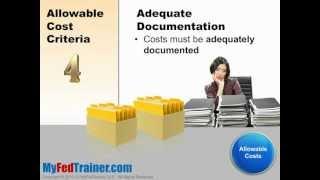 Download Grant Management Basics: Allowable Costs Video