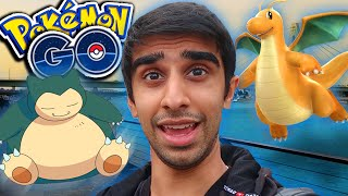 Download FIRST DRAGONITE & SNORLAX HUNT! - Pokemon Go with Lachlan Video