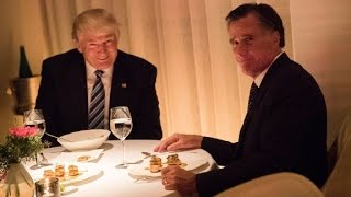 Download Romney was 'very impressed' after Trump dinner Video