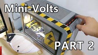Download Mini ITX PC case mod ″Mini-volts″ PART 2 on Cougar QBX Kaze Video