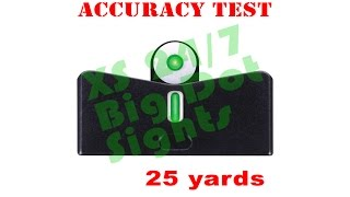 Download 25 Yards with the XS 24/7 Big Dot sights Video