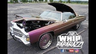 Download Flip Flop 70's Chevrolet Impala Vert on Forgiato Wheels Battle of the Whipz 2k17 Video