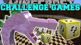 Download Minecraft: SPIKEZILLA CHALLENGE GAMES - Lucky Block Mod - Modded Mini-Game Video