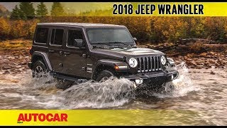 Download 2018 Jeep Wrangler   First Look Preview   Autocar India Video