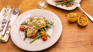 Download Puttanesca Green Beans with Grilled Swordfish and Oregano Video