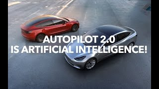 Download Autopilot 2.0 is artificial intelligence and Tesla HUD!   Model 3 Owners Club Video