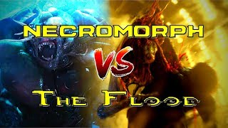 Download Dead Space Necromorphs Take on The Flood from Halo | Who would emerge the victor? Video